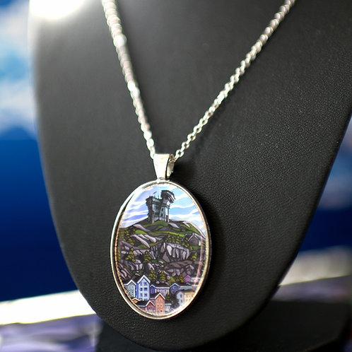 """""""Cabot Tower"""" Necklace"""