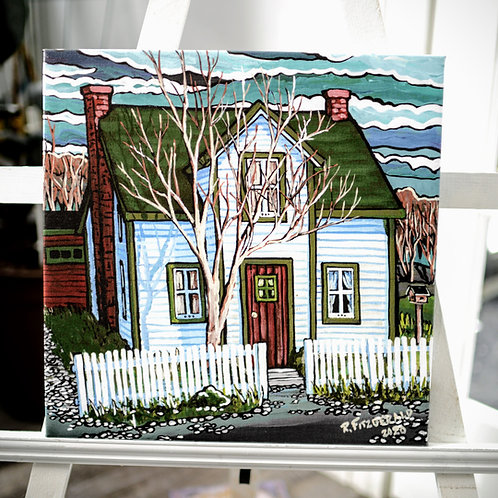 """Whelan House"" 16X16 Canvas Print (Reilly Fitzgerald, Artist)"