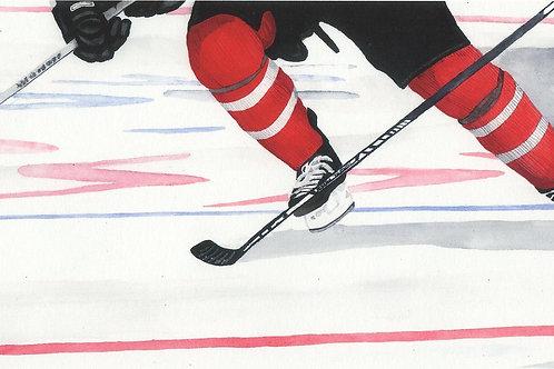 """""""Rivals"""" 11X13Fine Art Paper Print  Reilly Fitzgerald, Artist"""