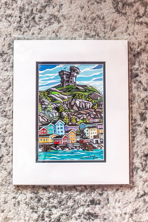 """""""Cabot Tower"""" 5X7"""