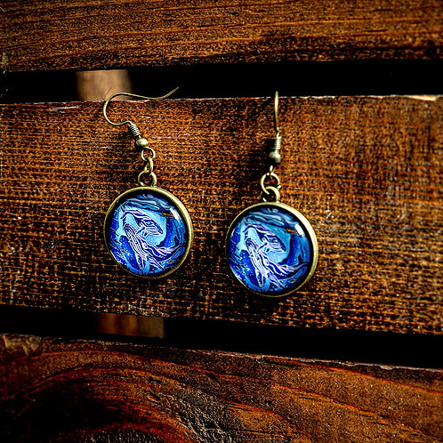 """""""Colossal Two"""" Earrings (Hanging)"""
