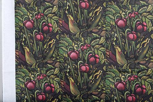 """Pitcher Plant"" Fabric 45X38"