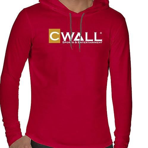 CWALL Long Sleeve Hooded T-Shirt