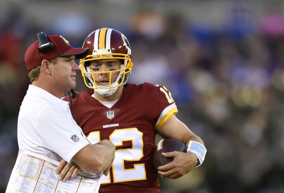 Gruden gets his wish, starts Colt McCoy at QB vs New England. Is this his last game as Head Coach?