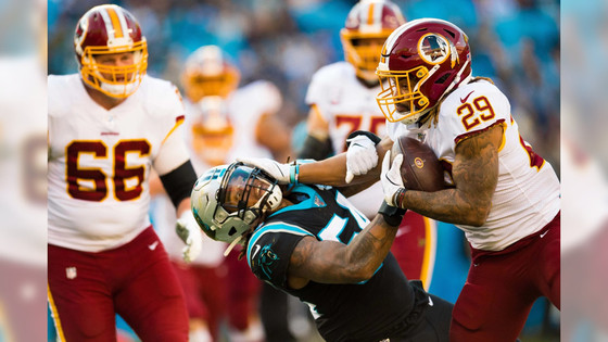 The Redskins appear to be on a surge in a battered and bruised NFC East