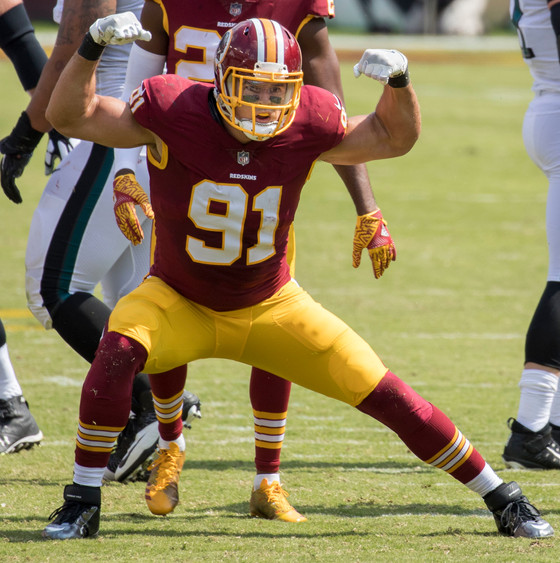 "Has the ""Show Stopped"" for Ryan Kerrigan?"