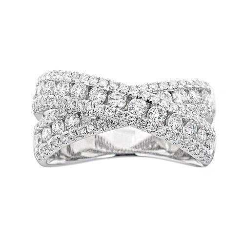 14KW ROUND DIAMOND RING