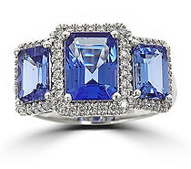 Cirari, Ring, Blue Tanzanite
