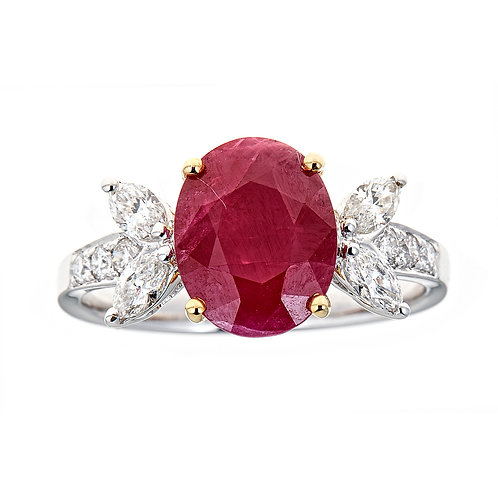 18KTT RUBY RING
