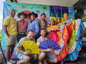 Pride Terrace Draws Local & International Crowd
