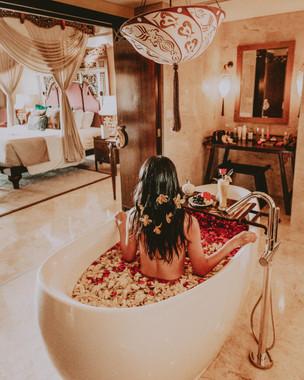 Romantic resort in Bali