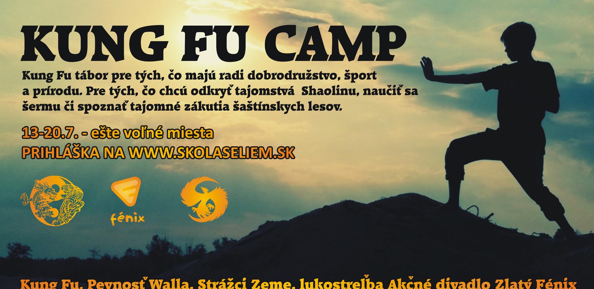 Kung fu camp - voľné miesta