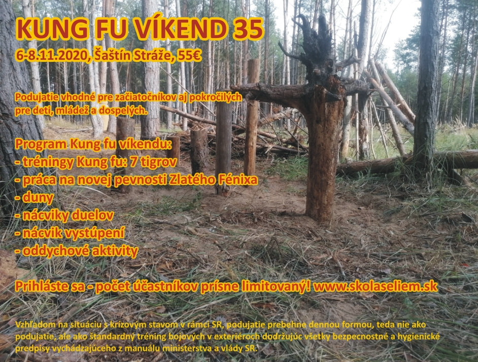 Kung fu víkend 35
