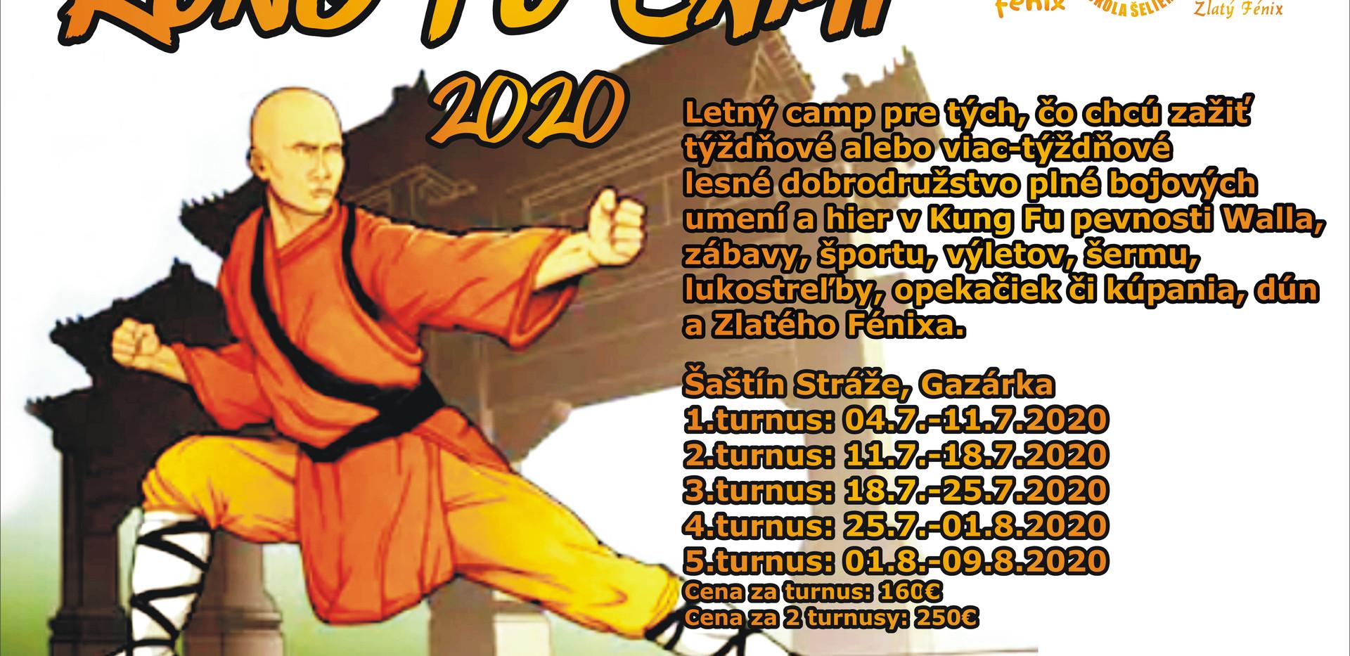 Kung fu camp 2020