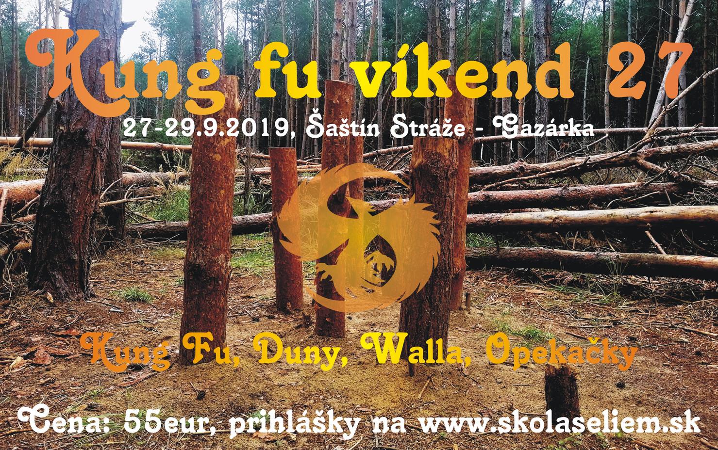 Kung fu víkend 27