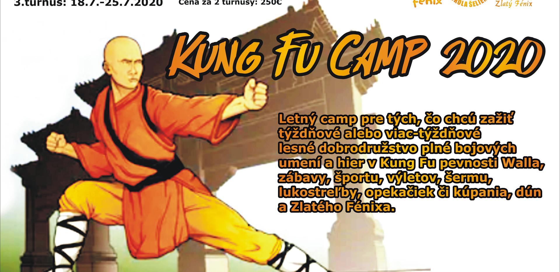 kung fu tábor na gazárke