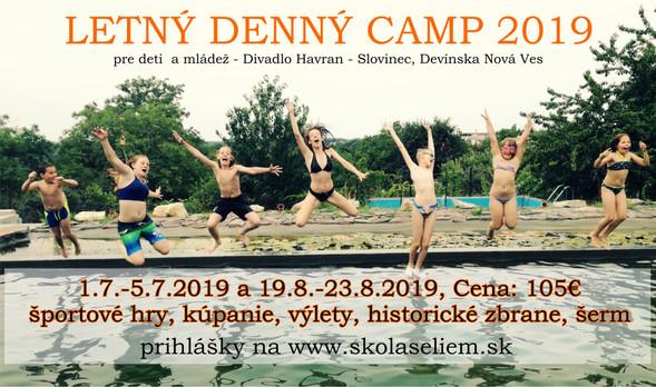 Letný denný športový camp pre deti a mládež v Devínskej Novej Vsi