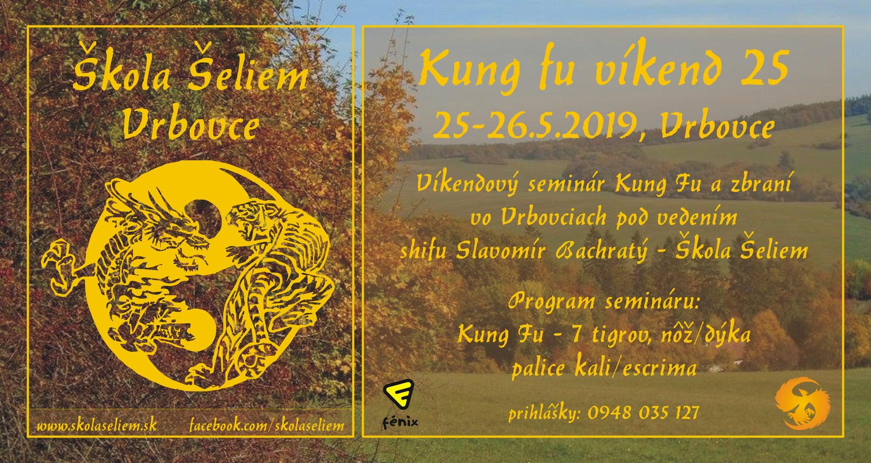 Kung fu víkend 25