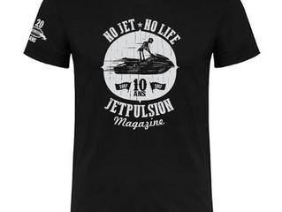 Tee shirt collector pour les 10 ans de JetPulsion magazine