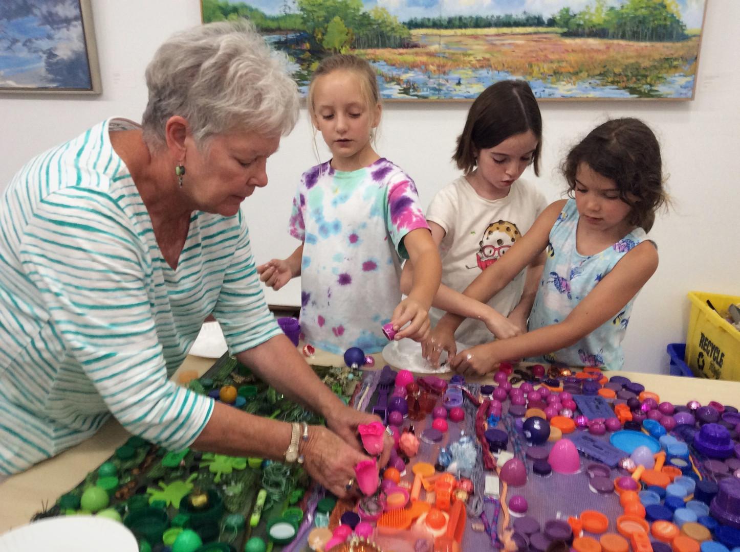 Artist Workshop with Junk Campers