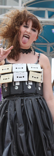 Cassett tapes and VHS tapes Dress