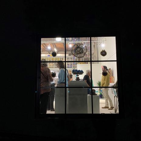 Opening through GalleRE window