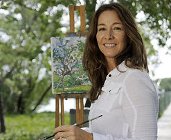 Tina Kraft Head Shot, at Easel.JPG