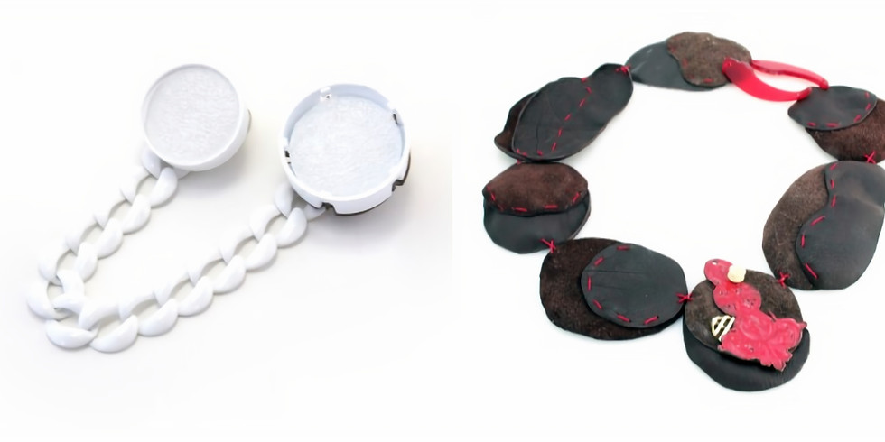 REmake Jewelry Workshop: Alternative Materials & Cold Connection