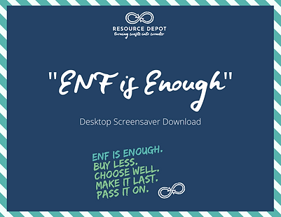 ENF is enough desktop screensaver graphi