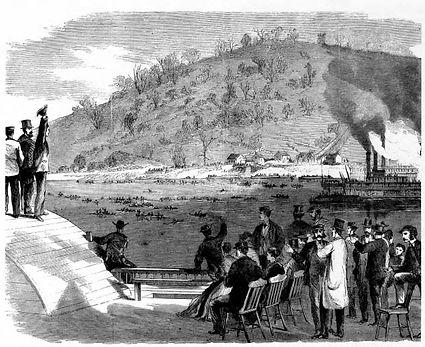 The 1867 Monongahela River Regatta