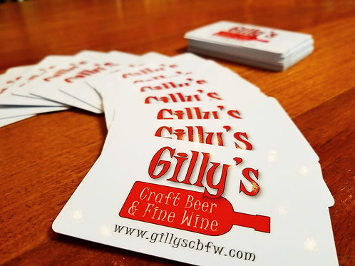 Gilly's Gift Card
