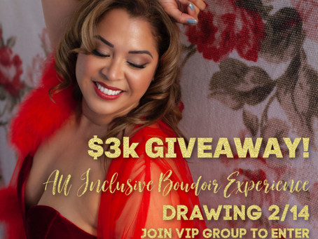 3 Days until $3K Giveaway Drawing!