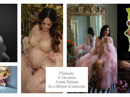 Studio makeover for Maternity & Newborn Focus