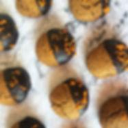 Μπισκότα με Ταχίνι & Επικάλυψη Σοκολάτας
