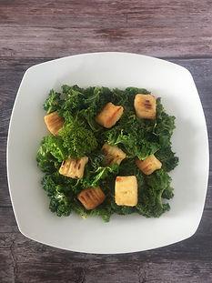 Νιόκι Γλυκοπατάτας με Kale