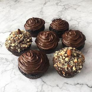 Cupcakes Μαύρης Σοκολάτας