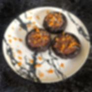 Μπισκότα Σοκολάτας με Καραμέλα Πορτοκάλι