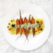 Κουσκούς από Κουνουπίδι με ψητά Καρότα