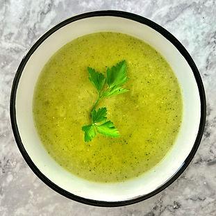 Σούπα με Πατάτα, Μπρόκολο & Αρακά
