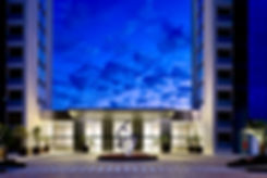 Escultura Universo Excêntrico - Hotel Led Águas Claras por Paulo Mac Dowell