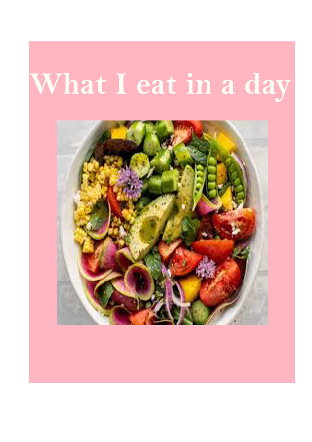 What I eat in a day as a university student