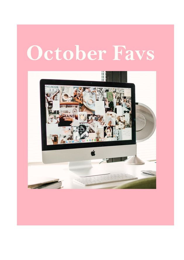Monthly Must Haves: October 2020