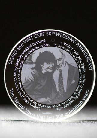 Vint Cerf Wed 50th anni