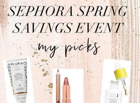 Sephora Spring Sale: My Picks