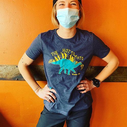 Women's Heather Blue Dino Shirt
