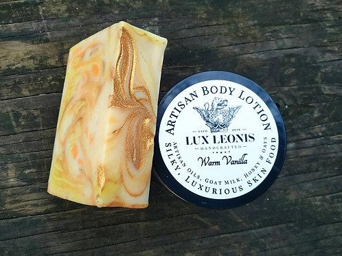 Warm Vanilla with lip balm