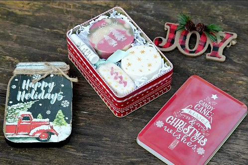 Sweet Peppermint candy gift set
