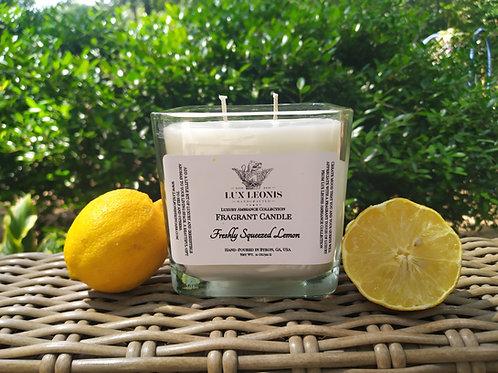 Freshly Squeezed Lemon Artisan Candle