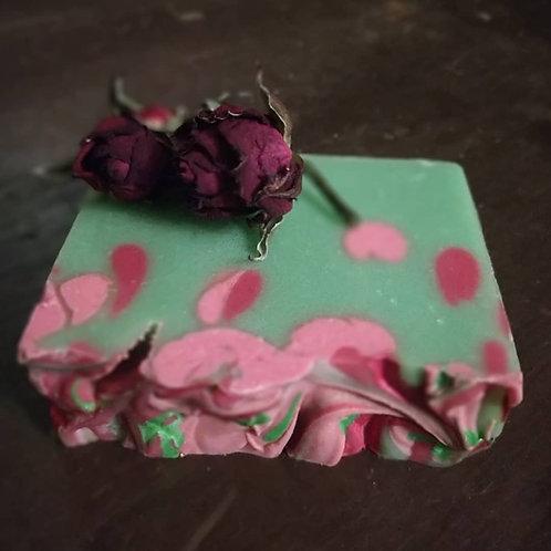 Wild Rose Goat Milk Soap