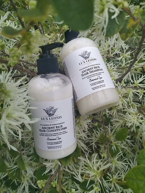 Ancient Rice: Shampoo and Conditioner Combo
